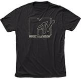 MTV- Outline Logo T-skjorte