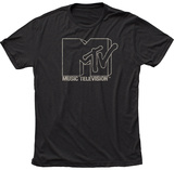 MTV- Outline Logo T-Shirt