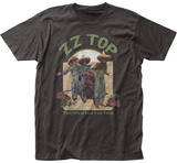 ZZ Top- El Loco Distreesed Album Art T-Shirts