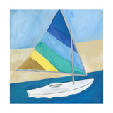 Sailboat Print by Anne Seay