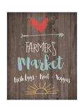 Farmer's Market Premium Giclee Print by Jo Moulton