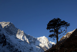 Himalayan Mountain Range in the Khumbu Region, Nepal Photographic Print by John Burcham