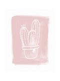Cactus III Premium Giclee Print by Linda Woods