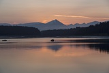 Sunrise over Fairweather Mountains in Glacier Bay National Park and Preserve Photographic Print by Macduff Everton