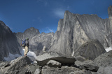 Alpinist in the Cirque of the Unclimbables Photographic Print by Chad Copeland