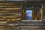 A Log Cabin in Telluride, Colorado Photographic Print by Karen Kasmauski
