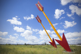 Twin Arrows Located on Old Route 66 in Arizona, Usa Photographic Print by John Burcham