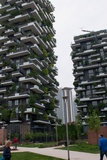 Bosco Verticale, Vertical Forest, a Pair of Residential Towers in Milan Photographic Print by Lori Epstein