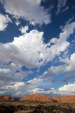 Clouds over Snow Canyon State Park Photographic Print by John Burcham