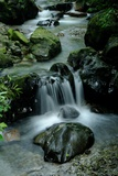 Water Flowing in a Surreal Stream Photographic Print by Tyrone Turner