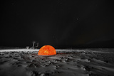 Model of the Sun Near a Geothermal Energy Plant in Iceland Photographic Print by Chad Copeland