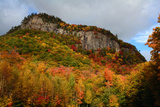 Scenic View of Fall Foliage and Exposed Rock on a Hillside in the White Mountains Photographic Print by Darlyne Murawski