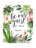 Be Our Guest Wifi Posters por Tara Moss