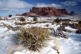 Monument Valley in Winter Photographic Print by Cagan Sekercioglu