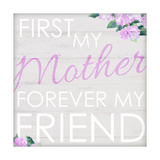 First My Mother Poster by Anna Quach