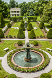 The Garden at Antrim 1844, a Restored Plantation House in Taneytown, Maryland Lámina fotográfica por Richard Nowitz