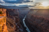 Toroweap Point Above the Colorado River on the Grand Canyon's North Rim Photographic Print by Stephen Alvarez