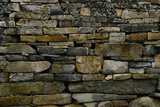 Close-Up of Viking Church Stone Wall Photographic Print by Raul Touzon