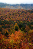 Fall Scenic View of the White Mountain Region of New Hampshire Photographic Print by Darlyne Murawski