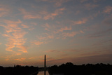 Washington Monument with Dramatic Sky Photographic Print by Tyrone Turner