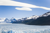 The Massive Perito Moreno Glacier Between Mountain Ranges in Argentina Photographic Print by Mike Theiss