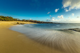 Kawakiu Nui Beach on Molokai's West End Photographic Print by Richard A. Cooke