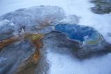 Gentian Pool in Yellowstone National Park's Lower Geyser Basin Photographic Print by Michael Nichols