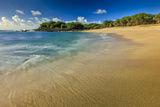 Kaupoa Bay Shoreline on Molokai's West End Photographic Print by Richard A. Cooke