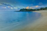 Kaupoa Bay Shoreline on Molokai's West End Photographic Print by Richard A. Cooke
