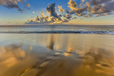 Sunset Above Papohaku Beach on Molokai's West End Photographic Print by Richard A. Cooke