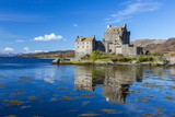 Eilean Donan Castle on a Small Tidal Island in the Western Highlands of Scotland Photographic Print by Jonathan Irish