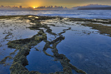 Sunrise Above Low Tide Pools at Ka'Ehu Point on Molokai's North Shore Photographic Print by Richard A. Cooke