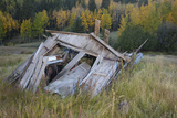 Ghost Town Ruin in Bonanza, Colorado Photographic Print by John Burcham