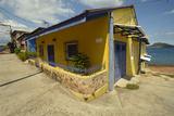 Colorful Houses on Taboga Island Photographic Print by Jonathan Kingston