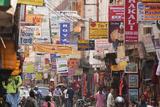 Thamel, Kathmandu's Commercial Neighborhood Photographic Print by John Burcham