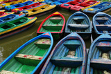 Rowboats at People's Park in Chengdu Photographic Print by Tyrone Turner