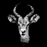 Low Poly Safari Art - The Look of Antelope - Black Edition II Plakater af Philippe Hugonnard