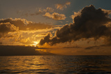 Dawn Breaking over the Coastline of Maui Photographic Print by Karen Kasmauski
