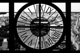 Giant Clock Window - View of Central Park IV Photographic Print by Philippe Hugonnard