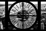 Giant Clock Window - View of Central Park at Sunset II Photographic Print by Philippe Hugonnard