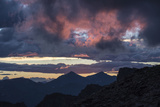 Dramatic Sky over Mount Evans Wilderness in Colorado Photographic Print by Charles Smith