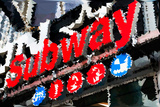 Low Poly New York Art - Subway Sign Prints by Philippe Hugonnard