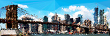 Low Poly New York Art - The Brooklyn Bridge Posters by Philippe Hugonnard
