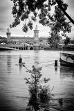 Paris sur Seine Collection - Crossing the Seine IV Photographic Print by Philippe Hugonnard