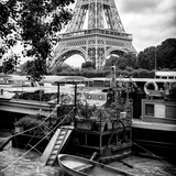Paris sur Seine Collection - Eiffel Boat I Photographic Print by Philippe Hugonnard