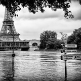 Paris sur Seine Collection - Eiffel Bridge IV Photographic Print by Philippe Hugonnard