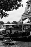 Paris sur Seine Collection - The Eiffel Tower and the Quays VIII Photographic Print by Philippe Hugonnard