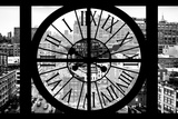 Giant Clock Window - View on Chelsea Market - Meatpacking District IV Photographic Print by Philippe Hugonnard