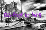 Paris Fashion Series - Weekend in Paris - Notre Dame Cathedral II Photographic Print by Philippe Hugonnard