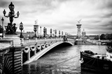 Paris sur Seine Collection - Alexandre III Bridge Photographic Print by Philippe Hugonnard
